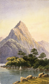 [Hoyte, John Barr Clark] 1853-1913 :[Mitre Peak. 1870s?]