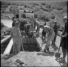 New Zealand Engineers building a bridge in Syria - Photograph taken by H Paton