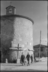 Small round church in the Italian town of Alife - Photograph taken by George Kaye
