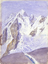 Green, William Spotswood, 1847-1919 :[The summit of Mount Cook. March 1882]