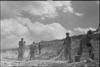 New Zealand Engineers quarrying metal for roads in the Monte Cassino area, Italy, World War II - Photograph taken by George Kaye