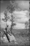 View of the country in the forward areas of the Italian Front, World War II - Photograph taken by George Kaye