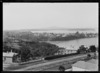 Part one of a two part panorama looking from Birkenhead, Auckland, to Northcote Point