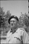 Lieutenant Colonel R L McGaffin, DSO, ED - Photograph taken by George Bull