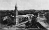 Overlooking the corner of Symonds Street and Alten Road, Auckland, with St Andrew's Presyterian church on the left
