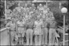 New Zealand Protestant padres attending conference held in New Zealand Forces Club in Rome, Italy, World War II - Photograph taken by George Kaye
