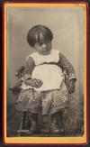 Pollard, Edwin (Wellington) fl 1883-1900 :Portrait of unidentified child