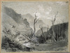 [Chevalier, Nicholas] 1828-1902 :The Hut Valley. New Zealand. [November 1868]