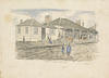 Chapman, George Thompson, 1824-1881 :Post Office, Auckland. Chapman lith. [Auckland, 1861?]