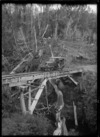 Chevrolet railcar, Ellis and Burnand bush railway, Ongarue