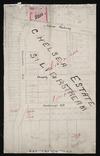 [Creator unknown] :Chelsea Estate, Silverstream [ms map]. [1909]