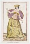 [Webber, John], 1757-1793 :Danseuse de l'Ile Otaiti. Imp B Jollivet. T[ome] 5. pl[ate] 3. Page 15.