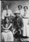 Rua Kenana and four of his wives, Opotiki