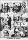 Melvin, Malcolm, fl 1909 :Sir Joseph in London. 1909. [Postcard].