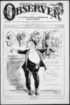 Blomfield, William, 1866-1938 :Trophies. The Observer, 21 November 1914 (front page).