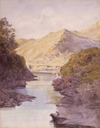 [Richmond, James Crowe], 1822-1898 :Wairoa Gorge. [1867-1869?]
