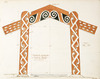 Godber, Albert Percy, 1876-1949 :Suggested design for a memorial archway at a bridge (Tuai). Scale 1 inch = 1 foot. 23.7.[19]40.