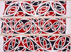 Williams, Herbert William 1860-1937 :Designs of ornamentation on Maori rafters. Nos. 16, 17, 18 [1890s]