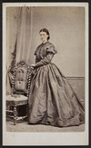 Wrigglesworth, J D (Wellington) fl 1863-1900 :Portrait of unidentified woman