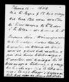 Letter from Hoera Whakataha to Te Keepa and Kawana