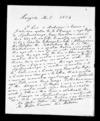 Letter from Epiha Putini, Arama Karaka and Wetere Kauwae to McLean