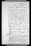 Letter from Te Hakiriwhi & Te Hura to Paora Tuhaere (with translation)