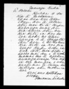 Letter from Peniamine Tuhaka to McLean