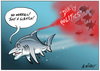 Nisbet, Alastair, 1958- :Hager shark. 16 August 2014