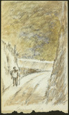 Pearse, John, 1808-1882 :Porirua road [1856]