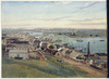 Hatton, Walter Scarlett, 1873-1938 :View of Sydney and harbour [1859?]