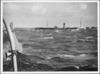 Ships in North Atlantic convoy