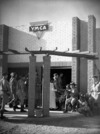 Entrance of the YMCA at Maadi, Egypt, during World War II