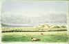 [Green, Samuel Edwy], 1838-1935 :Breakers at Waipapa. [1881]