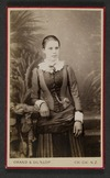 Grand & Dunlop (Christchurch) fl 1878 :Portrait of unidentified woman