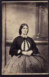 Photographer unknown :Portrait of Miss? Nicholls