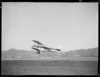 De Havilland DH60 Moth above runway of Rongotai aerodrome, Wellington
