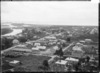 Panoramic view of Cobden, at the mouth of the Grey River