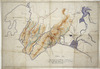 [Girdlestone, Hubert Earle, 1879-1918] :Plan of routes from Wellington to Wairarapa across the Rimutaka Ranges and around the coast [ms map]. [ca.1911].