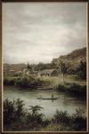 Baker, William George, 1864-1929 :Ongarua River [1890-1910].
