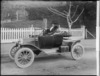Woman in a Model T Ford Runabout