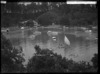 Boats in Mansion House Bay, Kawau Island - Photograph taken by W T Matthews