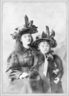 [Lady Constance Knox and her sister Lady Eileen Knox]