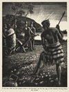 Goodwin, Arnold Frederick, 1890-1978 :In the year 1820 the first plough arrived in the Dominion - and the first page of New Zealand's farming history was written! [Edinburgh? 1930s]