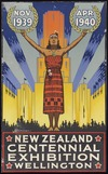 Mitchell, Leonard Cornwall, 1901-1971 :New Zealand Centennial Exhibition, Wellington. Nov 1939 [to] Apr 1940 [1939]