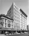 Harcourt's Buildings, Hamilton Chambers and the T&G Building, Lambton Quay, Wellington