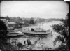 Boatshed and slipway of Bailey & Lowe at Sulphur Beach, Northcote, Auckland