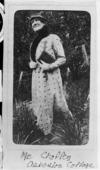 Annie Selina Chaffey (1877-1953) at Asbestos Cottage, Upper Takaka