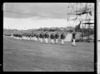 Team of athletes at the 1950 British Empire Games opening, Eden Park, Auckland
