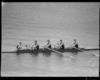 Winner of four-oar sculls, 1950 British Empire Games, Lake Karapiro