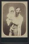 Brown, William Edmond (Nelson) fl 1875-1885 :Portrait of A S Atkinson and granddaughter Phyllis Fell